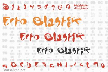 Ecto Blaster Font