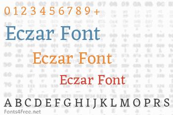 Eczar Font