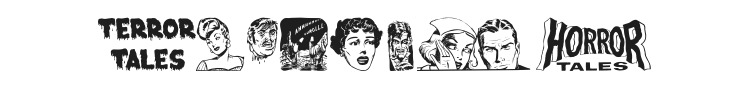 Eerie Pubs Dingbats II Font