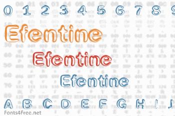 Efentine Font