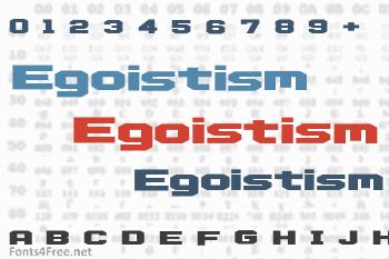 Egoistism Font