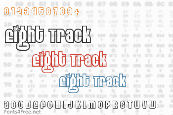 Eight Track Font