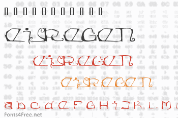 Eisregen Font