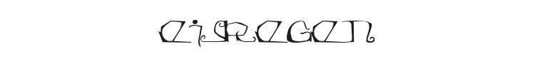 Eisregen Font Preview