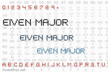 Eiven Major Font