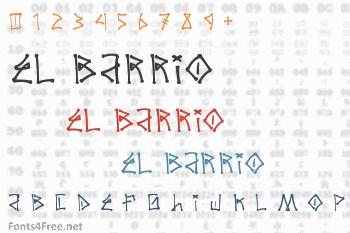 El Barrio Font
