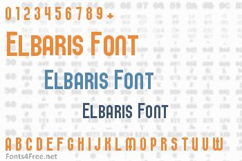 Elbaris Font