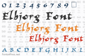 Elbjorg Font