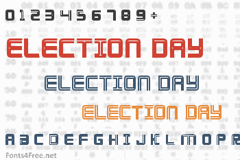 Election Day Font