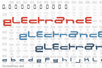 Electrance Font