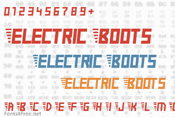 Electric Boots Font