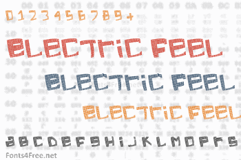 Electric Feel Font