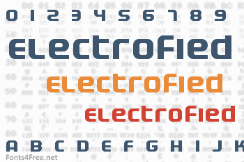 Electrofied Font
