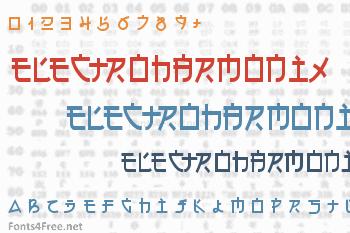 Electroharmonix Font