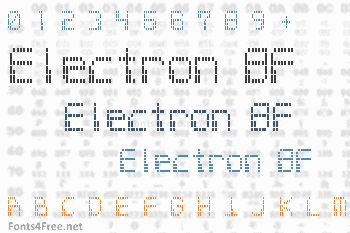Electron 8F Font