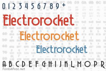 Electrorocket Font