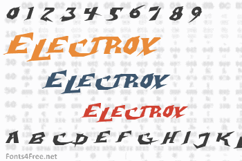 Electrox Font