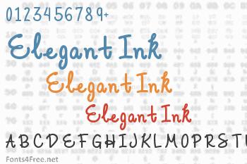Elegant Ink Font