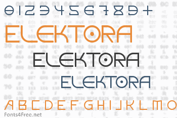 Elektora Font
