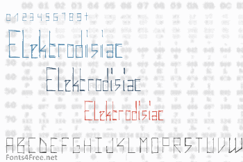 Elektrodisiac Font