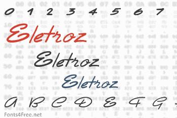 Eletroz Font