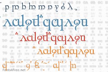 Elfic Caslin Font