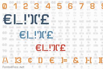 Elite Font