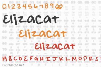 Elizacat Font