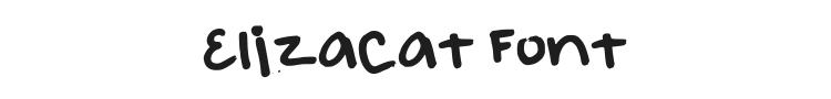 Elizacat Font Preview