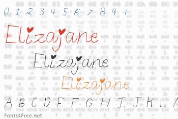 Elizajane Font