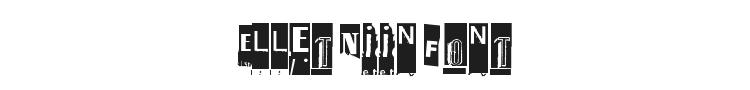 Ellet Niin Font Preview