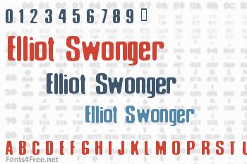 Elliot Swonger Font