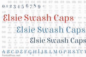 Elsie Swash Caps Font