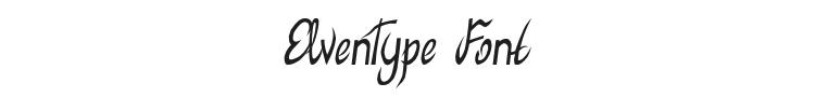 ElvenType Font Preview