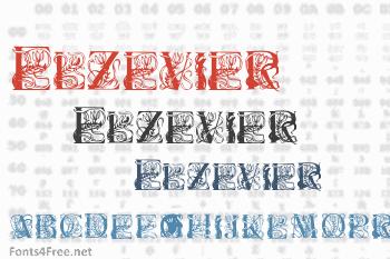 Elzevier Font