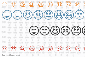 Emoticons Font