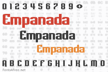 Empanada Font
