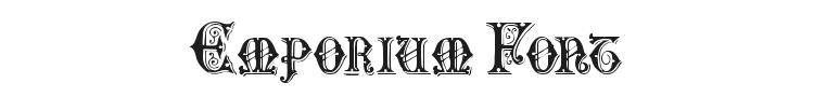 Emporium Font Preview