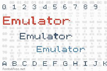 Emulator Font