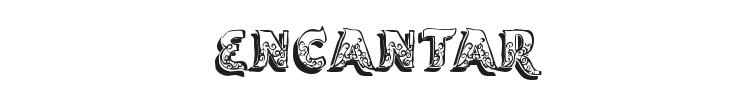 Encantar Font Preview