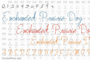 Enchanted Prairie Dog Font