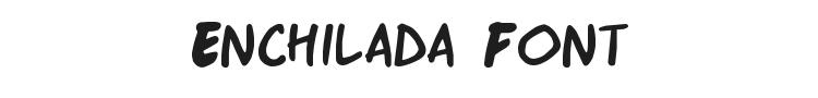 Enchilada Font Preview