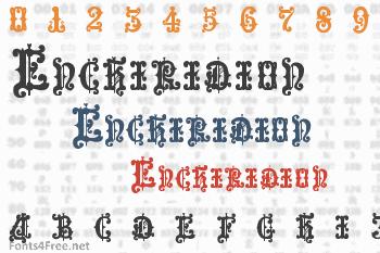 Enchiridion Font