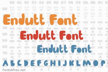 Endutt Font