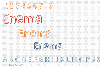 Enema Font