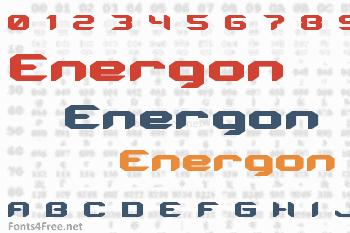 Energon Font