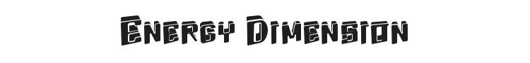 Energy Dimension
