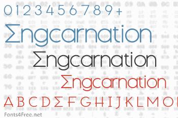 Engcarnation Font