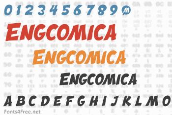 Engcomica Font