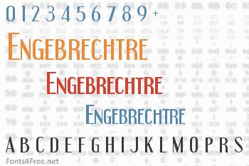 Engebrechtre Font